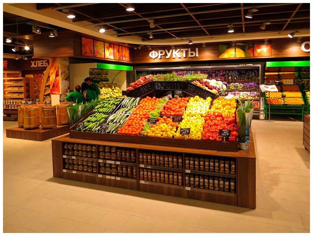 дизайн продовольственных магазинов фото