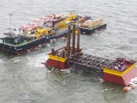 «Роснефть» завершает установку крупнейшей в мире стационарной буровой платформы
