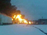 В Луганске горит принадлежащий «Роснефти» Лисичанский НПЗ
