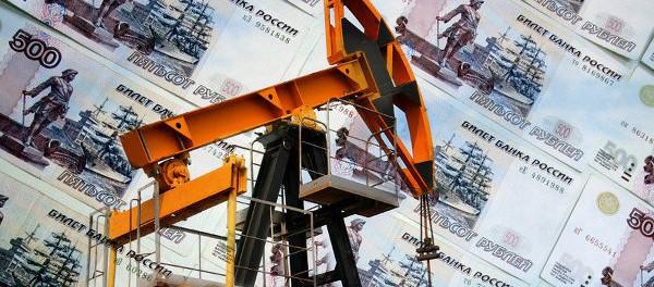 Нефть давит на рубль