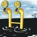 Нефть удержала рубль от падения