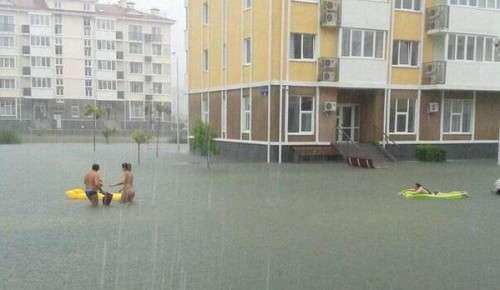 Сочи выбирается из потопа