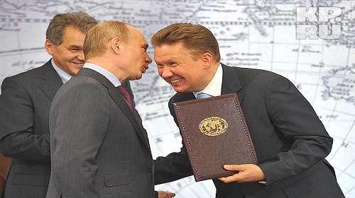 Путин поручил Миллеру обсудить вопрос транзита газа через Украину после 2019 года