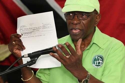 Джек Уорнер из Тринидада и Тобаго