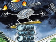 Рубль тонет в иранской нефти