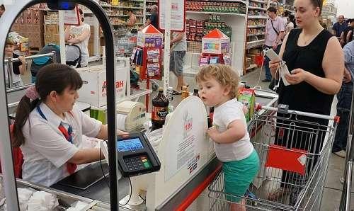 Росстат зарегистрировал продовольственную дефляцию