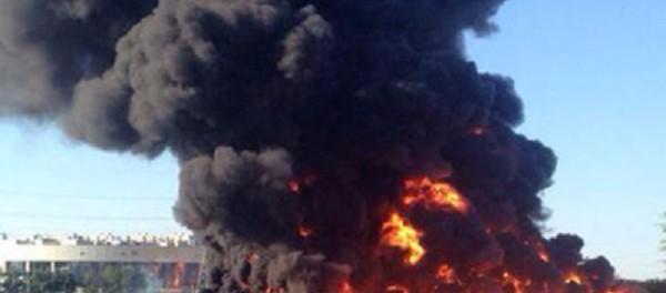 Транснефть: причиной вчерашнего пожара на Москве-реке стали