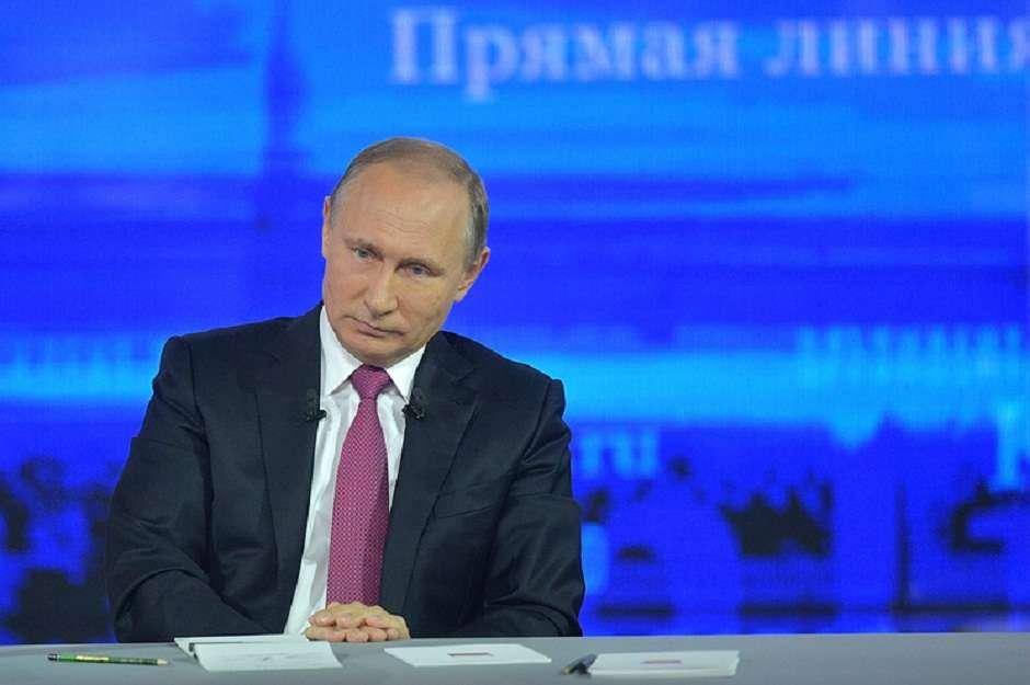 Прямая линия с президентом 2019: задать вопрос Путину, онлайн трансляция