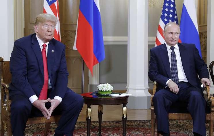 Встреча Путина с Трампом, последние новости