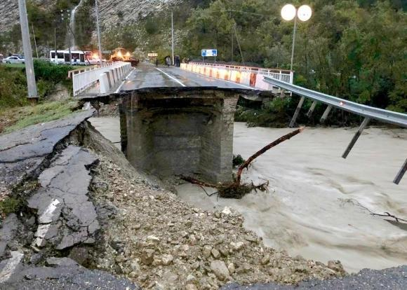 Наводнение в Краснодарском крае сейчас, 29.10.2018